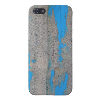 Scratched Blue iPhone 5 Covers