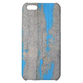 Scratched Blue iPhone 5C Case