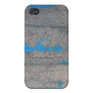 Scratched blue covers for iPhone 4