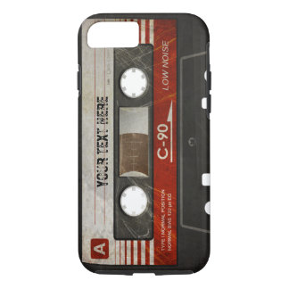 Scratched Compact Audio Cassette | DJ Best Gifts iPhone 7 Case