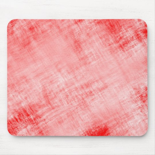 Scratched Distressed Parchment Paper: Faded Red Mouse Pad