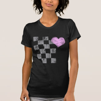 Scratched Heart Tee Shirts