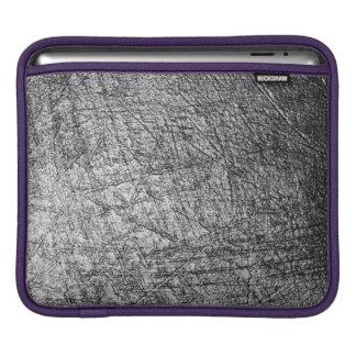 Scratched Metal iPad pad Horizontal Case