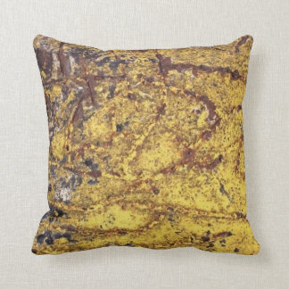 Scratched Metal Pillow