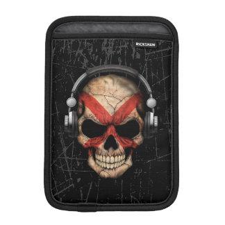 Scratched Northern Ireland Dj Skull iPad Mini Sleeve