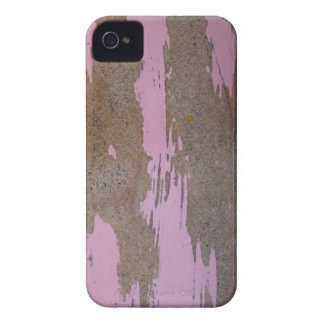 Scratched pink timber iPhone 4 cover