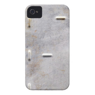 Scratched, Rusted Metal iPhone 4 Case-Mate Case