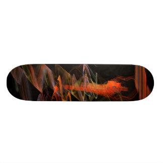 Scratched Surface Skateboard Deck