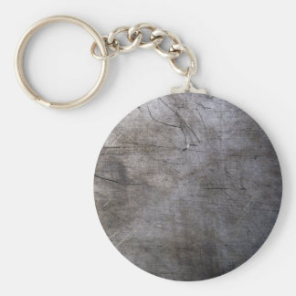 Scratched Titanium Image Keychain