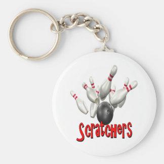 Scratchers Bowling Key Chain