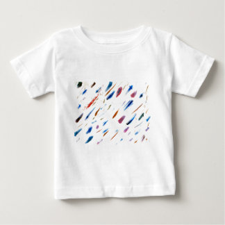 Scratches and Smudges Abstract Painting Baby T-Shirt