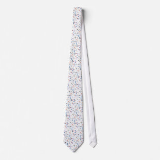 Scratches and Smudges Abstract Painting Neck Tie