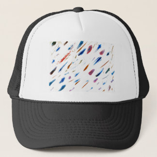 Scratches and Smudges Abstract Painting Trucker Hat