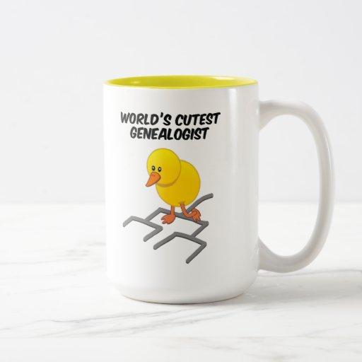 Scratchin alrededor taza