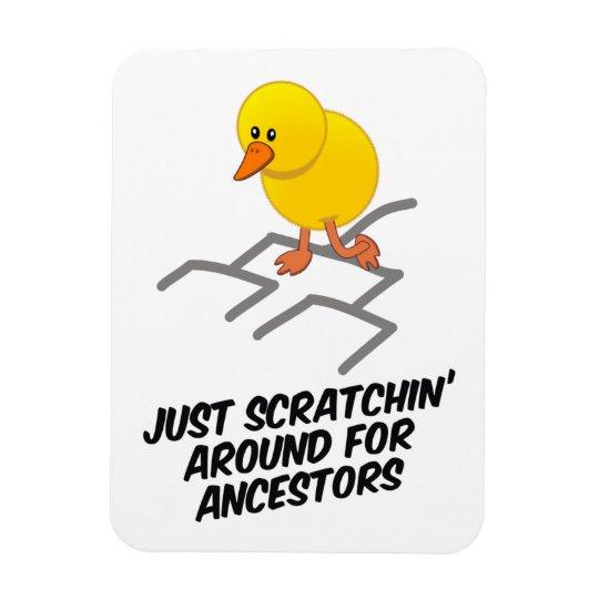 Scratchin' Around Magnet