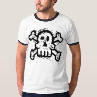 Scratchy Skull T Shirt