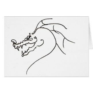 Scrawl Dragon Card