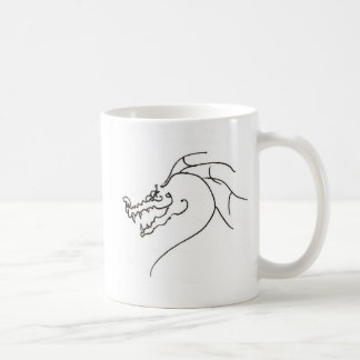 Scrawl Dragon Coffee Mug