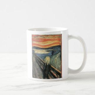 Scream 1 classic white coffee mug