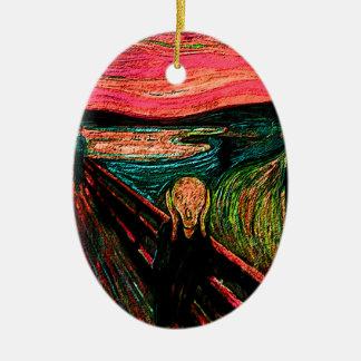 Scream 33 ceramic ornament