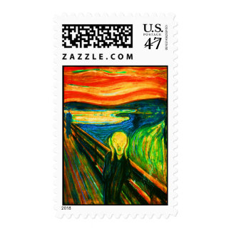 Scream 39 postage stamp