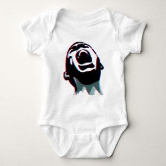 Scream 3D Baby Bodysuit