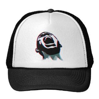 Scream 3D Trucker Hat