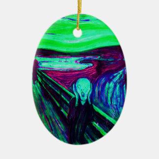 Scream 43 ceramic ornament