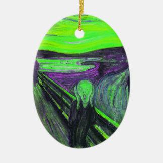 Scream 8 ceramic ornament