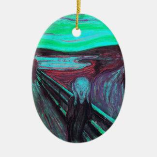 Scream 9 ceramic ornament