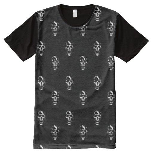 Scream all over print t shirt zazzle for Vista print tee shirt