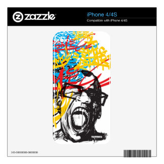 Scream and tags iPhone 4S decal