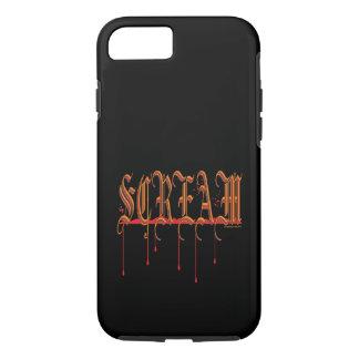 SCREAM Bloody Halloween iPhone 7 Case
