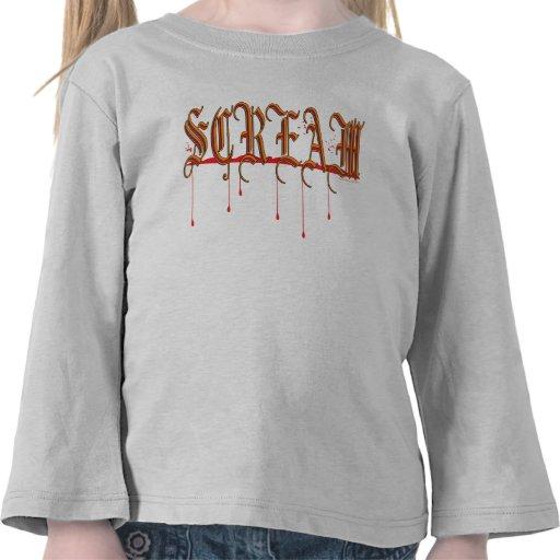 SCREAM Bloody Halloween Tshirts