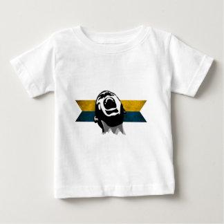 Scream Blue-Yellow Baby T-Shirt
