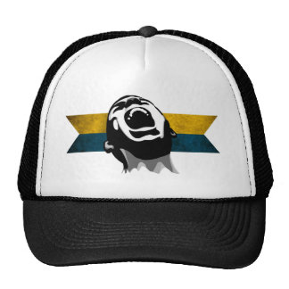 Scream Blue-Yellow Mesh Hats