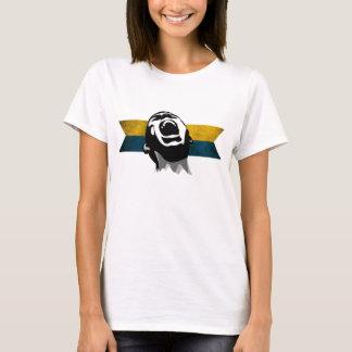 Scream Blue-Yellow T-Shirt