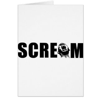 Scream Card