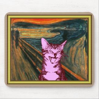 SCREAM CAT! MOUSE PAD