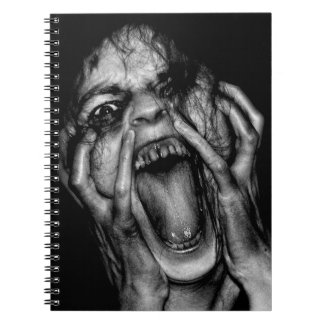 Scream  Custom Notebook