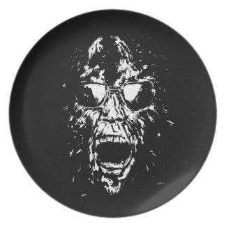 scream dinner plate