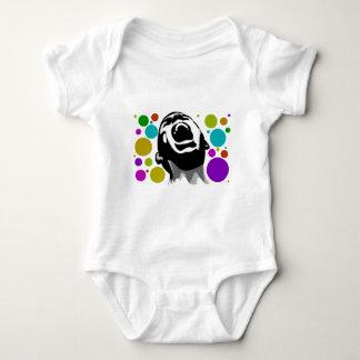 Scream dots baby bodysuit