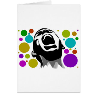 Scream dots greeting cards