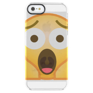 Scream Emoji Clear iPhone SE/5/5s Case
