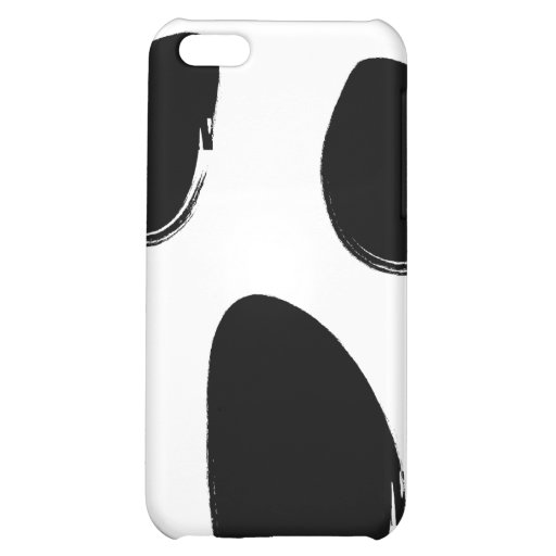 Scream Face Cell Phone Case Case For iPhone 5C