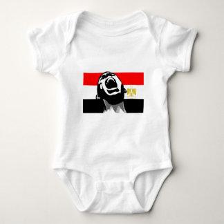 Scream for Egypt Baby Bodysuit