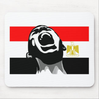 Scream for Egypt Mouse Pad
