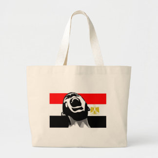 Scream for Egypt Tote Bags