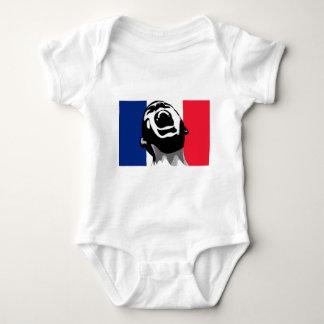 Scream for France Baby Bodysuit