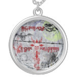 Scream for Halloween Necklace